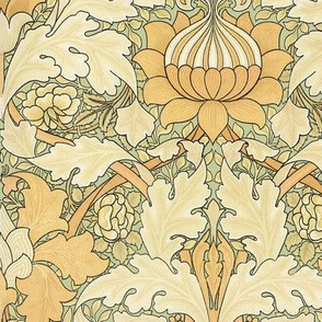 William Morris ~ Growing Damask ~ Original on Mori