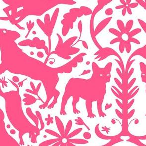 Dog Otomi Pink