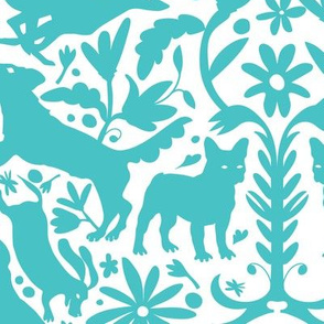 Dog Otomi Teal