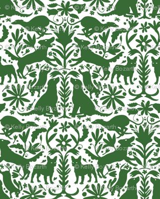 Dog Otomi Green
