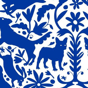 Dog Otomi Blue