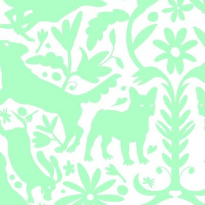 Dog Otomi Mint