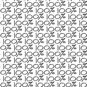Girl Power Math Number || Science Black White 100 percent word font || perfect Drops Spots Dots White Miss Chiff Designs