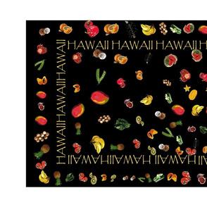 Tea Towel - Hawaiian Farm to Tea Towel by kedoki