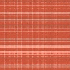 pixel tartan red
