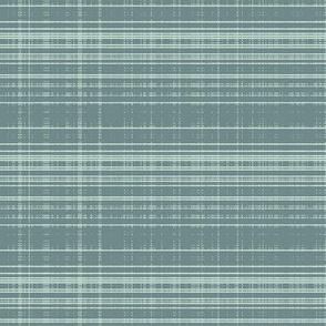 pixel tartan blue