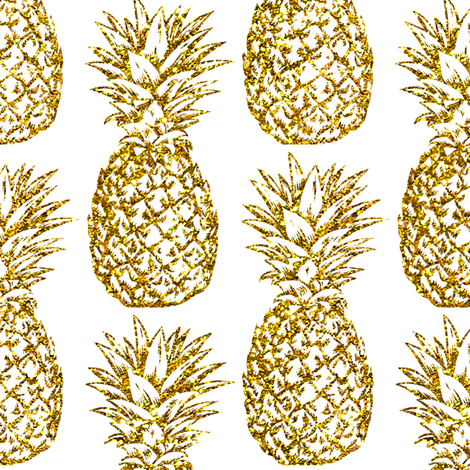 Pineapple glitter. Pineapples designs by mirabelleprint