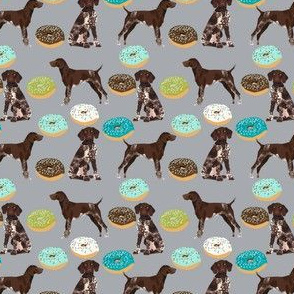 german shorthaired pointer donuts fabric donuts dogs design