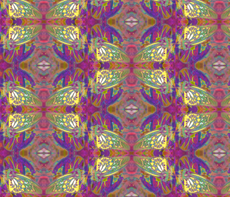 ButterflyAbstract5 fabric by lauriem9@yahoo_com on Spoonflower - custom fabric