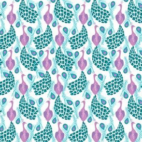 peacock fabric bird birds feathers peacocks nursery baby fabric