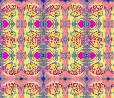 ButterflyAbstract19 fabric by lauriem9@yahoo_com on Spoonflower - custom fabric