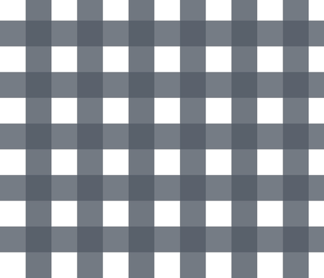 Buffalo Check Gray fabric by fat_bird_designs on Spoonflower - custom fabric
