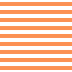 Cabana Stripes - Tangerine