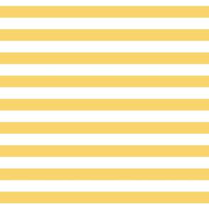 Cabana Stripes - Perfect Yellow