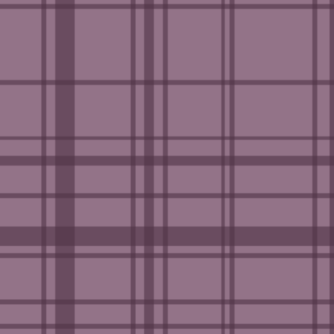 Fall 2017 plaid in purple fabric by thislittlestreet on Spoonflower - custom fabric