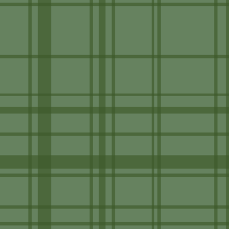 Fall 2017 Plaid in green fabric by thislittlestreet on Spoonflower - custom fabric