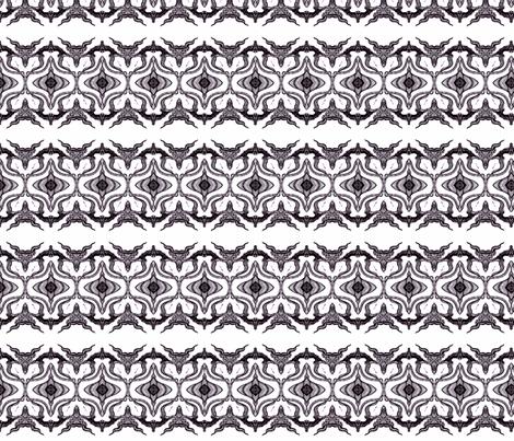 Beast is born fabric by artbyvilla on Spoonflower - custom fabric