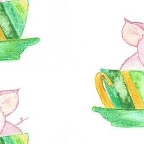 Tea cup piggy