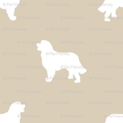 Bernese Mountain Dog silhouette dog breed pattern sand