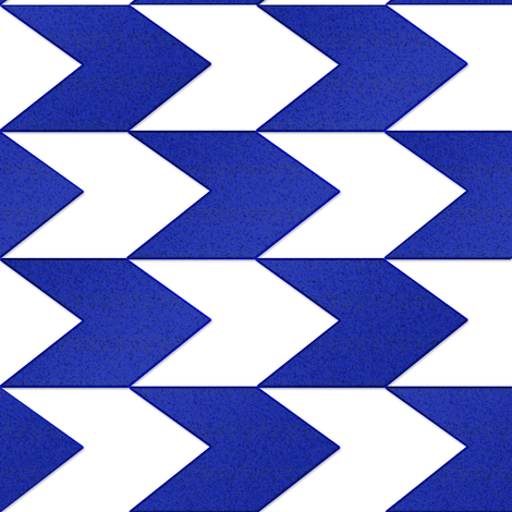 Blue and White Chevron Stripes fabric by eclectic_house on Spoonflower - custom fabric