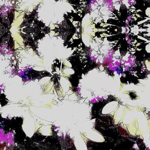 Dramatic flower bouquet