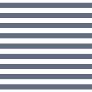 Cabana Stripes - Fog