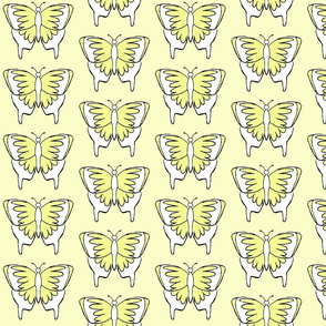 Butterfly 1- Yellow