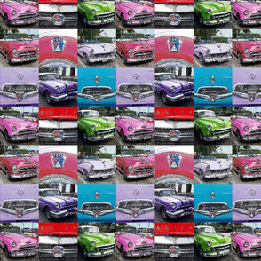 cuba carros 2 watercolor