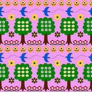 picnic bluebird_pink