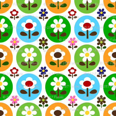 picnic drop flower