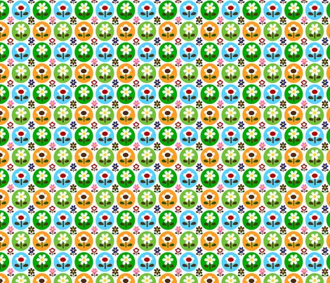 picnic drop flower fabric by 257 on Spoonflower - custom fabric
