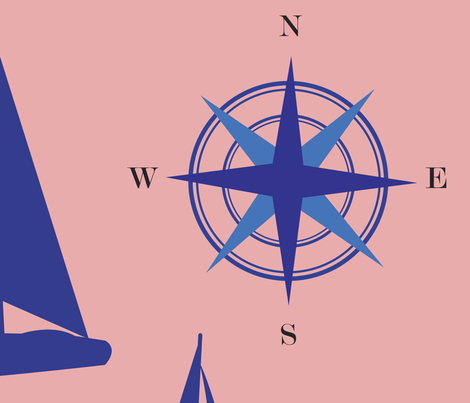 Harbor fabric by f2illustrations on Spoonflower - custom fabric