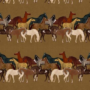 Horse Herd Stripe