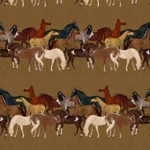 Horse Herd Stripe