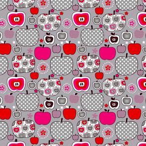 An apple a day grey