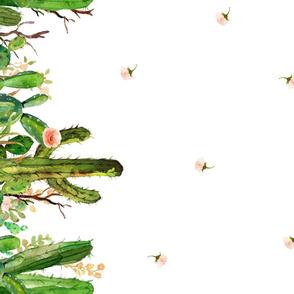 Cactus Garden / REPEAT PRINT BORDER