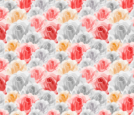 For Love fabric by floramoon on Spoonflower - custom fabric