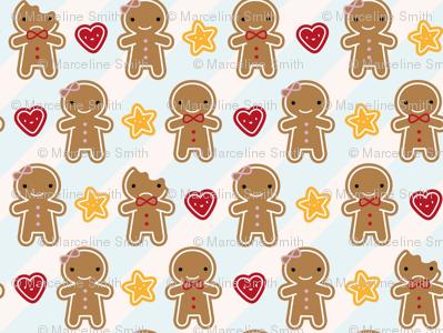 Mini Cookie Cute Gingerbread Men