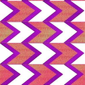Cherry Grape Chevron Arrow Stripe