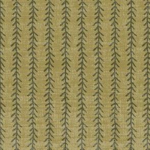 FeatherStripe3x9OliveLichenLin-300dpi