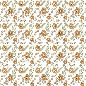 Khaki floral