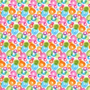 Small Watercolor Circles