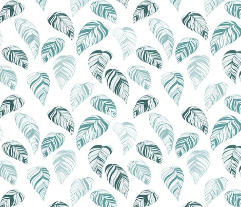 Summer_leaves-teal_shop_preview