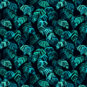 summer_leaves-dark_teal