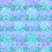 Teal & Peri Striped Leaf Columns_SML