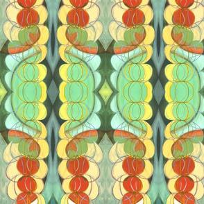 rainchain gourd (detail)