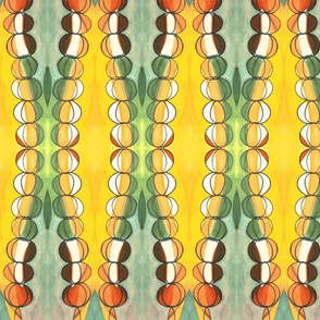 rainchain gourd (detail 2)
