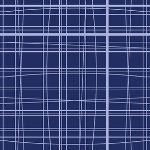 Doo-Lally Tartan blueviolet
