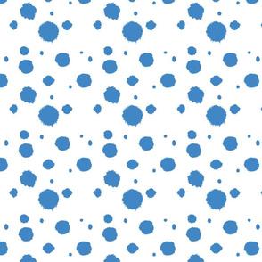 Circus Dots - light blue