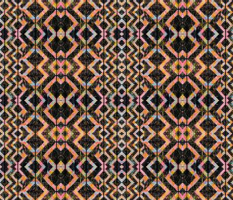 NY1224 Black Navajo fabric by jennifersanchezart on Spoonflower - custom fabric